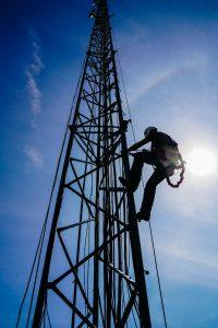 Internet Tower Climber